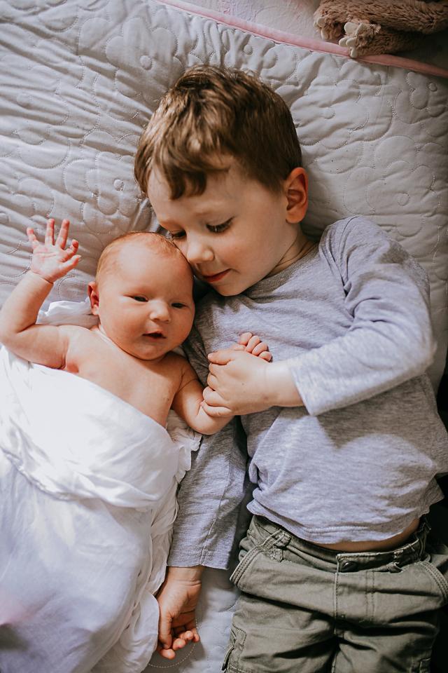 Toddler and newborn photos